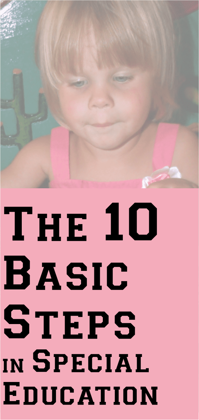 the ten 10 basic steps in special education the oklahoma parents