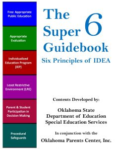 Special Ed Advocacy Nine Rules Of Thumb >> The Oklahoma Parents Center